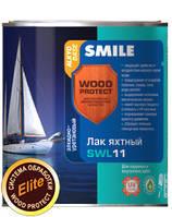 Лак яхтный «SMILE®WOOD PROTECT®» SWL11 алкидно-уретановый Тик Глянец 0,75 л