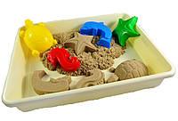 """Кинетический песок WABA FUN в наборе """"Водный мир"""", фото 1"""