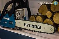 Бензопила Hyundai X-380 (2,3 л.с. шина 40 см), фото 1