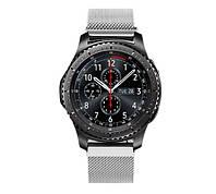 Миланский сетчатый ремешок Primo для часов Samsung Gear S3 Classic SM-R770/Frontier RM-760 - Silver