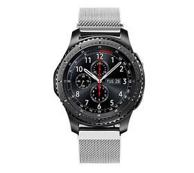 Міланський сітчастий ремінець Primo для годин Samsung Gear S3 Classic SM-R770/Frontier RM-760 - Silver