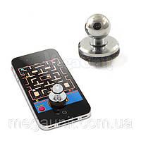 Джойстик игровой для экранов смартфонов (серебристый), фото 1
