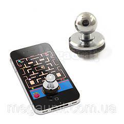 Джойстик игровой для экранов смартфонов (серебристый)