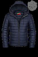 Демисезонная куртка мужская синяя, новинки 2017