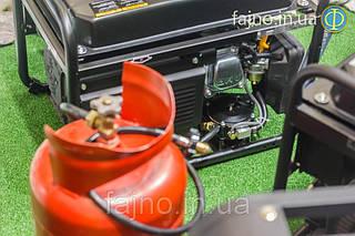 Генератор бензин газ Hyundai HHY 3000FG (2,6 кВт)