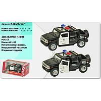 """Машина металл """"KINSMART"""" KT5097WP Hummer H2 POLICE"""