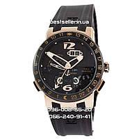 Часы Ulysse Nardin El Toro gold/black. Replica: AAA., фото 1