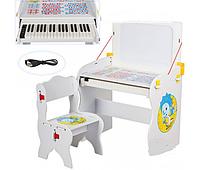 Детская парта пианино,фиксики