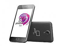 Смартфон Pixus hit, 2sim, экран 4.5''IPS, 5/2Мп, 1/8Gb GPS, 3G, 4 ядра, Android 6.0
