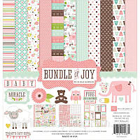 Набор бумаги Echo Park Paper - Bundle Of Joy Girl, 30x30 см