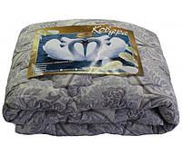 Одеяло двуспальное лебяжий пух 180*210 хлопок (3272) TM KRISPOL Украина