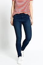 Женские узкие темно-синие джинсы скинни (Inverness), фото 3