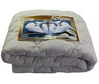 Одеяло двуспальное евро лебяжий пух 200*210 хлопок (3273) TM KRISPOL Украина