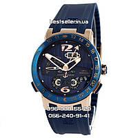 Часы Ulysse Nardin El Toro gold/blue. Класс: AAA.