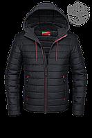Ветровка мужская черная, демисезонные куртки мужские новинки 2017
