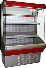 Холодильная горка фруктовая CRETE F 20-08 VM 0,7-2 (Carboma ВХСп-0,7)