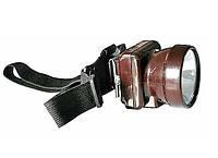 Шахтерский фонарь (коногонка) SX-005 Акция!