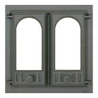 Дверца каминная, двустворчатая SVT 401 (500х500)