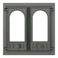 Дверца каминная, двустворчатая SVT 401 (500х500), фото 1