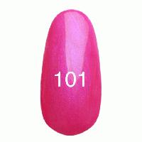 Гель-лак Kodi Professional №101 (ярко розовый с перламутром) 8 мл.