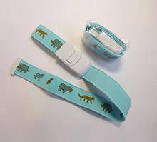 Жгут кровоостанавливающий автоматический для детей 2.5*50 см,(детский - голубой с рисунком)