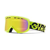 Горнолыжная маска Giro Focus Flash лайм/чёрная 50/50, yellow Boost 62% (GT)