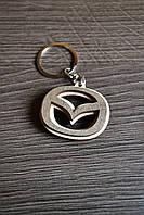 Брелок с логотипом авто Mazda