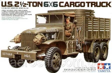 U. S. 2,5 ton 6x6 Cargo Truck 1/35 TAMIYA 35218