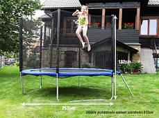 Батут детские 244 см. 8 ft. c защитной сеткой, фото 3