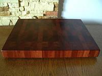 Кухонная торцевая разделочная доска 50х35х4,5 см из вишни С50х35