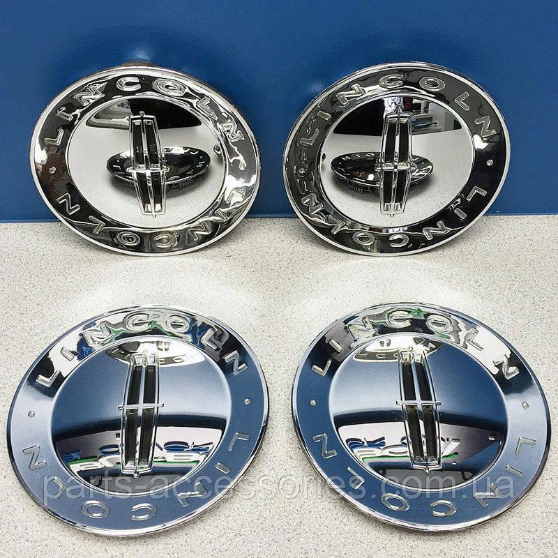 Lincoln Navigator 2007-2011 хромовые колпачки в диски R20 Новые Оригинальные