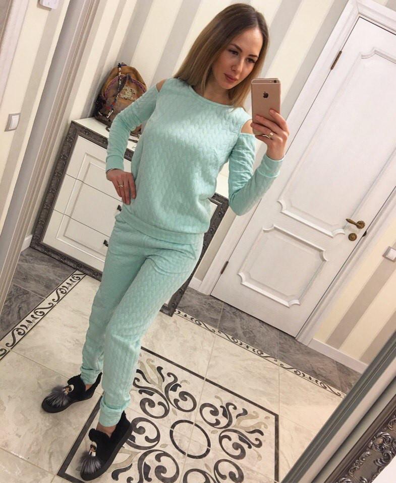 397826058bed Стильный костюм из стеганого трикотажа (арт. 493922181), цена 480 грн., купить  в Харькове — Prom.ua (ID#493922181)