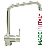 LVMSTY20120A#NKS Bianchi Style Смеситель для кухни Г-образный излив никель