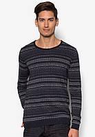 Мужской тонкий вязанный свитер Eduward от !Solid в размере L