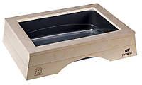 Ferplast Nip Wood Туалет для кошек открытый с деревянной отделкой