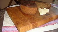 Кухонная торцевая разделочная доска 60х40х5 см из ясеня С70х45