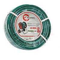 "Intertool GE-4041 Шланг для полива 3-х слойный 3/4"", 10м, армированный PVC"
