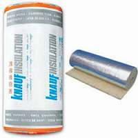 """Минеральная вата """"Knauf"""" Insulation LMF AluR 20 мм (фольгированная)"""
