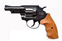 """Револьвер Zbroia Snipe 3"""" (черный/бук) под патрон флобера 4мм"""
