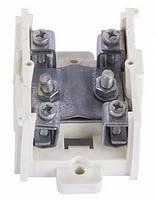 Клеммная колодка магистральная (проходимая) e.tc.main.steel.95, 1х95 мм.кв./4х16 мм.кв..,стальной контакт