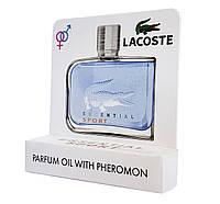 Мини парфюм с феромонами Lacoste Essential Sport Pour Homme (Лакост Эссеншиал Спорт Пур Хом) 5 мл