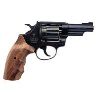 """Револьвер Zbroia Snipe 3"""" (черный/укр орех) под патрон флобера 4мм"""