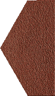 Декор Paradyz Natural Duro Polowa 14,8x26 rosa