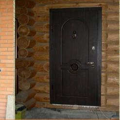 Двери входные с МДФ накладками квартирные и офисные 1