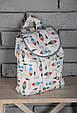 """Дитячий рюкзак """"Рибки"""", фото 3"""