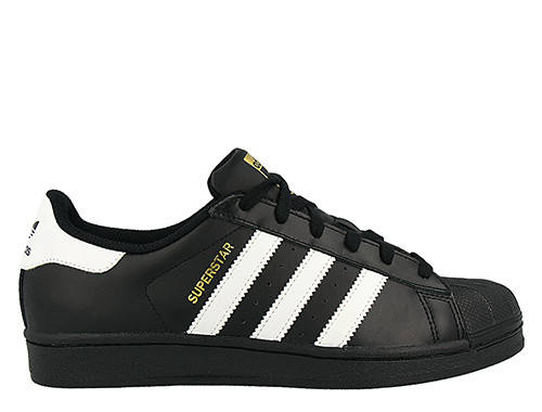 "Женские кроссовки Adidas Superstar Foundation ""Core Black"""