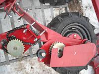 Опопрно-приводное колесо