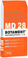 Двухкомпонентная быстросохнущая полимерцементная гидроизоляция для бассейна BOTAMENT MD 28, 35кг (A+B)