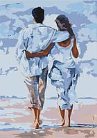 """Картина для рисования по номерам Идейка """"Безоблачное утро"""" (KH2643) 35 х 50 см"""