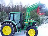 Фронтальный погрузчик Hydrometal на тракторы John Deere, фото 8